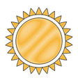 drawing sun solar energy environmental renewable vector image vector image