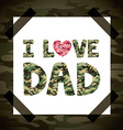fathers day vector image