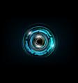 futuristic sci fi technology pattern concept vector image