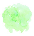 green watercolor texture vector image vector image