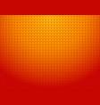 modern jagged orange background vector image vector image