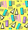 neon pop background vector image vector image