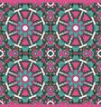 oriental ornament relaxing mandala doodle vector image vector image