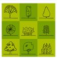 Tree 1 vector image