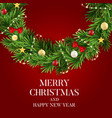 abstract holiday new year and merry christmas vector image vector image