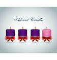 advent candles design