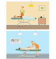chocolate spa body treatment and body wrap vector image vector image