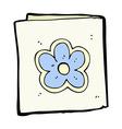 comic cartoon greeting card vector image vector image