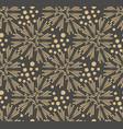 dandelion flower seamless pattern vector image vector image