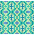 Multicolor seamless pattern with Arabic motif vector image