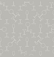 seamless pattern with cocktail glasses in retro vector image vector image