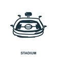 stadium icon mobile apps printing and more usage vector image
