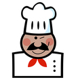 Winking Black Chef vector image vector image