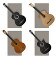some types guitar vector image