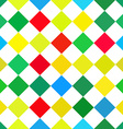 Abstract colorful retro squares seamless vector image vector image