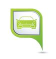 Car GREEN pointer