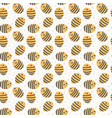cute bees and daisies seamless pattern for kids