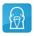 Dove icon Animal head symbol vector image