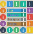 Lipstick icon sign Set of twenty colored flat vector image