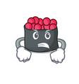 angry ikura mascot cartoon style vector image vector image