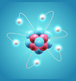 colorful scientific design concept vector image vector image