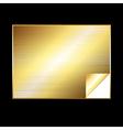 golden gradient background vector image