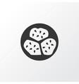 kiwano icon symbol premium quality isolated vector image