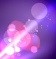 shiny bokeh lights vector image
