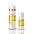 spray serum cosmetics realistic mock up hydration vector image vector image
