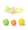 Stack of citrus sliced fruits