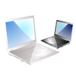two laptop vector image vector image