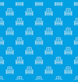 window balcony pattern seamless blue vector image vector image