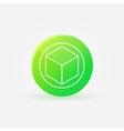 3D printer logo or icon vector image vector image