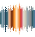 Abstract colorful gradient indicator vector image vector image