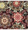 Beige seamless pattern with eastern mandalas vector image vector image
