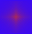 halftone heart pattern background - love graphic vector image vector image