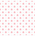 pink rose seamless pattern vector image