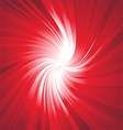 Ray Lights explosion background with red colors vector image