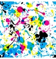 splats pattern vector image vector image