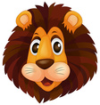 A head of a lion vector image vector image