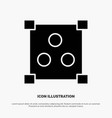 abstract design online solid glyph icon vector image vector image