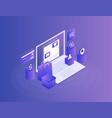 concept of online shop online store vector image vector image