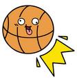 cute cartoon basketball