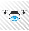 Eye Spy Drone Eps Icon vector image vector image