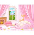 Sweet Bedroom vector image vector image