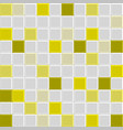 yellow tile texture vector image vector image