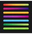 Progress Bar Set For Games Set 2 vector image