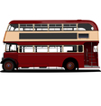 6101 bus vector image vector image