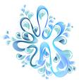 abstract bright splash vector image
