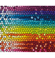 colorful rainbow template vector image vector image